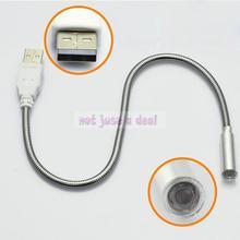 flexible nuevo mini usb luz led torsión ajustar el ángulo lámpara usb para portátil notebook pc(China (Mainland))