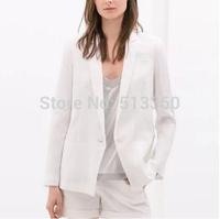 Осень леди stylishwarm классический искусственного меха vestcoat зимние пиджаки элегантный v шеи европейских случайных жилет