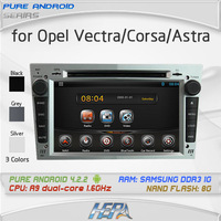 Pure Andriod 4.2.2 car styling stereo dvd player for chevrolet Opel Astra j g b gtc Antara Vectra Zafira Corsa Meriva Astra