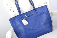 AC171 Modern Fashion solid bow PU Handbag Purse Shopper Tote bag Handbag