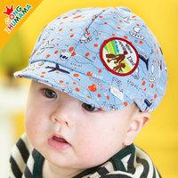 boys hats! baby cap  Children caps print airplane boat  baby boys beret cap baby girls hat spring & autumn  cap  ETJ-A0174