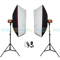 500ws Photo Studio Mini Strobe Monolight Lighting Kit PSK250D Free Shipping