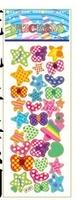 child paper toys flower  paper sticker SPONGE FROZEN STICKERS/kids toys/DIY Adhesive paper game 7*17cm