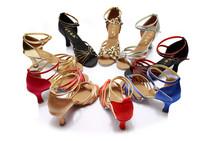 New Fashion Women's Ladies Girl's Latin Tango Ballroom Salsa Heeled Dance Shoes Dancing Shoes WZSP801 5cm Heel High