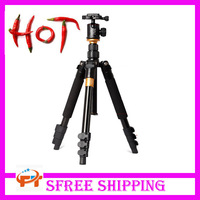 Hot Professional manfrotto Tripod Monopod Q-570 Q 570 Tripod extensor para foto +Ball head +Carrying Bag Max.capacity:5KG
