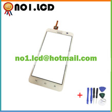 New White Touch Screen Digitizer Glass Replacement For Huawei Honor 3X G750 B0406 Mobile Phone Parts