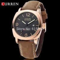 men wristwatch men quartz watch military watch Men's genuine leather sport Watches fashion relogio 3 ATM waterproof ML0565