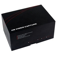 1 pc Newest HD TV Video Capture EZCAP Black 1080P  Game Capture HDMI YPbPr Recorder into USB Disk D5207A Eshow