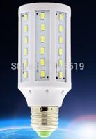 E27  LED corn  bulbs  5050SMD   60leds 10w 1000-1080Lm  VS 80-100W halogen  200-240V  400PCS