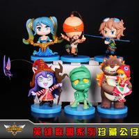 The anime wholesale LOL 6 hero alliance set boxed doll