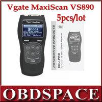 2014 Vgate VS890 OBDII OBD2 Super Auto Diagnostic Tool Fault Code Reader Scanner Diagnostic tools multi- Language DHL Free