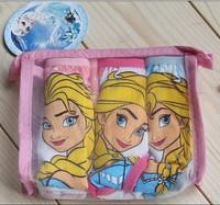 Wholesale 6 pcs Foreign trade cotton children's underwear briefs, girls briefs, children's The frozen cartoon underwear