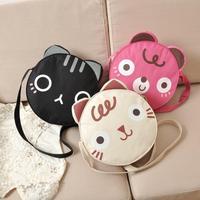 AC150 Cute Sweet Cute Sweet animal prints linen women handbag shoulder bag sling bag messenger bags cross body