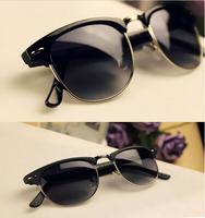 CLUBMASTER 3016 Sunglasses Women Sunglasses Men Sunglasses fashion Glass Lenses 48mm Retro Fashion Sunglasses 631