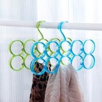 Free shipping Nordic style fashion tie rack / circle scarf rack / scarf hanger / belt storage rack / ring practical drying rack