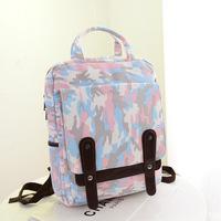 camouflage pattern canvas bolsas mochilas feminina school bags teenager preppy laptop travel sport backpack for women girls