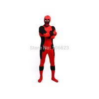 Deadpool Costume Lycra Super Hero Costume Zentai Unisex Party Costume Halloween Costume