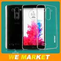 Original Bepak Transparent Clear Cover Case For LG G3 mini Anti Scratch PC Hard Back Case For LG G3 mini