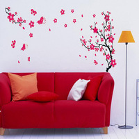 New Plum Blossom Flower Removable Art Decal Mural Home Room Decor Wall StickerTonsee