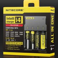 2014 Newest Nitecore I4 Intellegent LCD Display Battery Charger For Li-ion Ni-MH Ni-Cd RCR123A 26650 18650 AA/AAA Battery