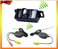 Short Plate wireless camera infrared night vision camera car auto license plate frame wireless camera