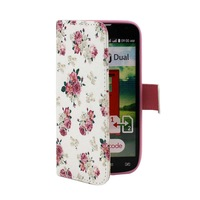 10PCS/lot  Various Owl Flower Pattern Wallet Flip Stand Leather Case Cover Skin For LG Optimus L90 D410 D405