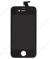 For OEM Apple iPhone 4 LCD Screen and Digitizer Assembly with Frame (Assembled Flex, Verizon Wireless) - Black