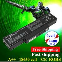 Hot!! 6cell Replace Laptop Battery 916C5220F CLEVO M740NBAT-6 CLEVO 6-87-M660S-4P4 M660NBAT-6 M740BAT-6 black
