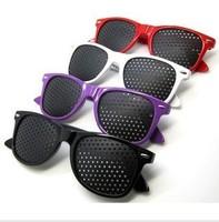 Corrective glasses pinhole glasses pinhole glasses adjust