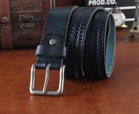 Genuine Leather Designer Belts For Men 2014 Famous Brand Men Belt Leather Casual Cinto Masculino Ceinture Man Luxury MBT0203