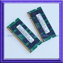 Samsung 2GB 2x1GB PC2 4200 DDR2 533 533Mhz SO-DIMM 200 PIN Laptop ddr2 2G Notebook RAM Memory Free Shipping!!! (China (Mainland))