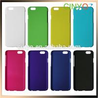 "Plastic Rubber Rubberized Hybrid Back Case Cover Hard Case for iPhone 6 4.7"", Size 100% fit, 200pcs/lot 100pcs/color Free Ship"