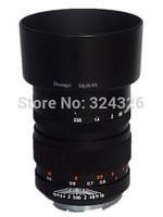 original lens 50MM F/0.95 50MM 0.95 for *New Ver.* MITAKON Speedmaster 50mm f/0.95 w/hood for Sony FF NEX-7 A7R 7S  zhongyi