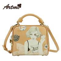For ar tmi2014 spring the trend of fashion vintage sweet princess women's handbag cross-body bag