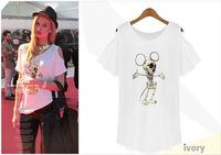 New FashionHot summer new European style strapless women's T-shirt sk063825