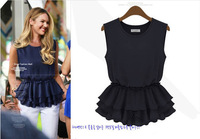 New FashionThe new 2014 summer models snow chiffon vest bottoming harness sk063434