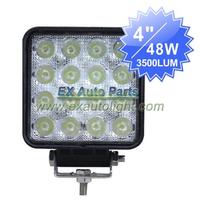 10PCS X 48W Flood/Spot Beam LED Work Light SUV/ATV/Off-road/Truck/4WD Car LED Driving DRL Light Fog Lamp Free Shipping