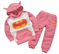 Fashion brands  Children Outfits Tracksuit Batman Clothing Children Hoodies + Kids Pants Sport Suit Boys Clothing Set