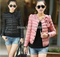 Down Jacket NEW 2014 Fashion Female Money down jacket Shortage of Money  Women cotton-padded clothes Winter clothing Coat