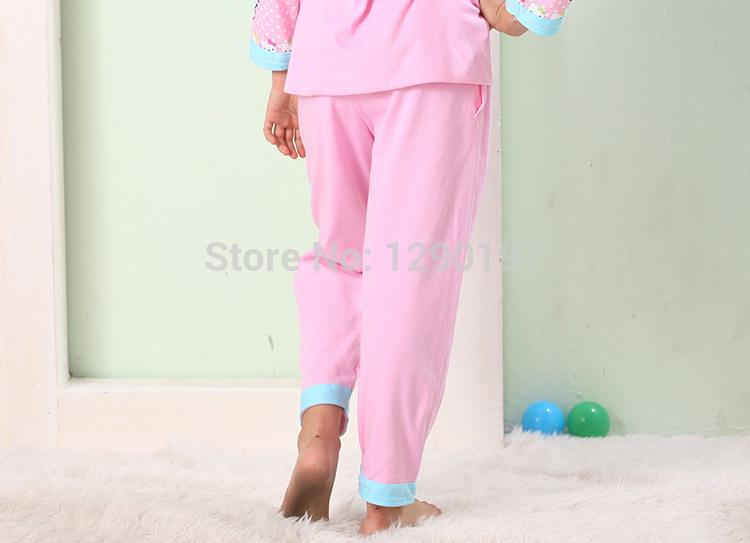 Children long sleeve girls pajamas leisurewear suit HELLO KITTY(China (Mainland))