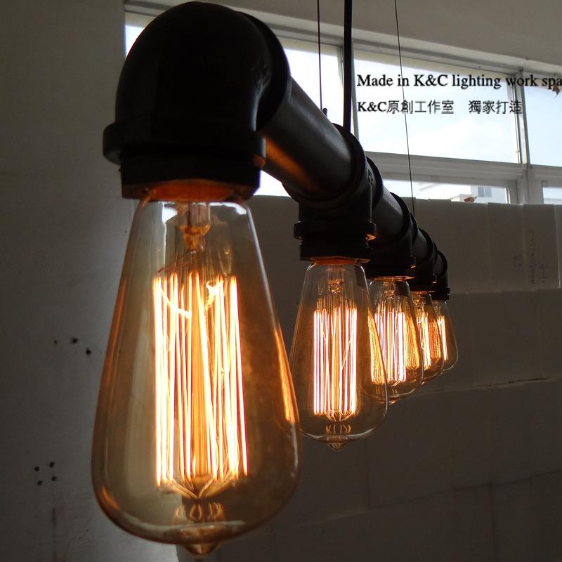 Industrial Pendant Lights Bar