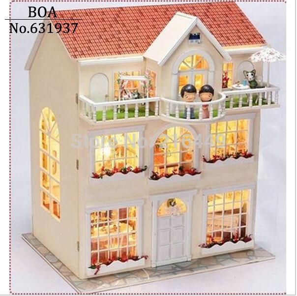 casa de muñecas de madera con muebles  Compra lotes baratos de casa