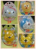 Hello Kitty Tiger Doraemon small p child cute cartoon automatic retractable tape measure 100mm 12pcs