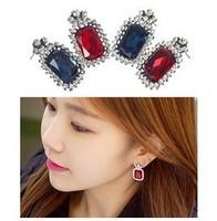 2pairs/lot  imitation diamond earrings A1024