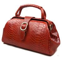 New Vintage Fashion Alligator Crocodile Genuine Leather Cowhide Women Handbag Shoulder Bag Messenger Bag Bags For Women 8104