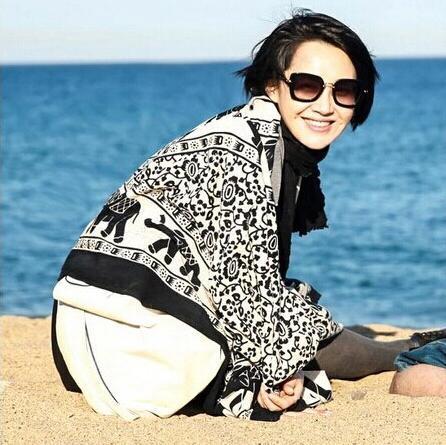 2014 fall fashion for women,Free shipping,elephant print,viscose hijab,head wrap,muslim hijab,bandana,shawls and scarves,cape(China (Mainland))