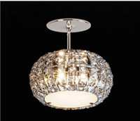 LED lamps and lanterns lamp/restaurant/sitting room /bedroom contracted crystal absorb dome light spot