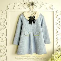 Wholesale, baby girls dress,2014 new fall / winter princess dress, 5 pcs/ lot (#6032)