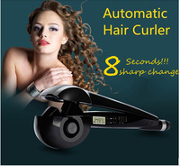 LCD Screen Digital Display Perfect Hair Curlers Magic Automatic Curls Styling Tools Hair Roller Hair Curler free shipping