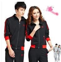 2014 new Korean ladies fashion sweater casual sportswear suit lovers
